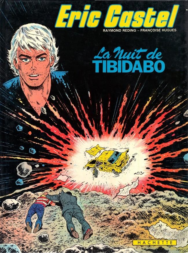 Couverture de Eric Castel -7- La nuit de Tibidabo