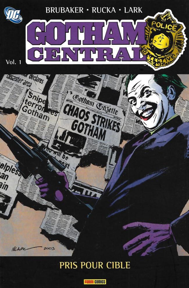 Couverture de Gotham Central (Semic-Panini) -31- Pris pour cible
