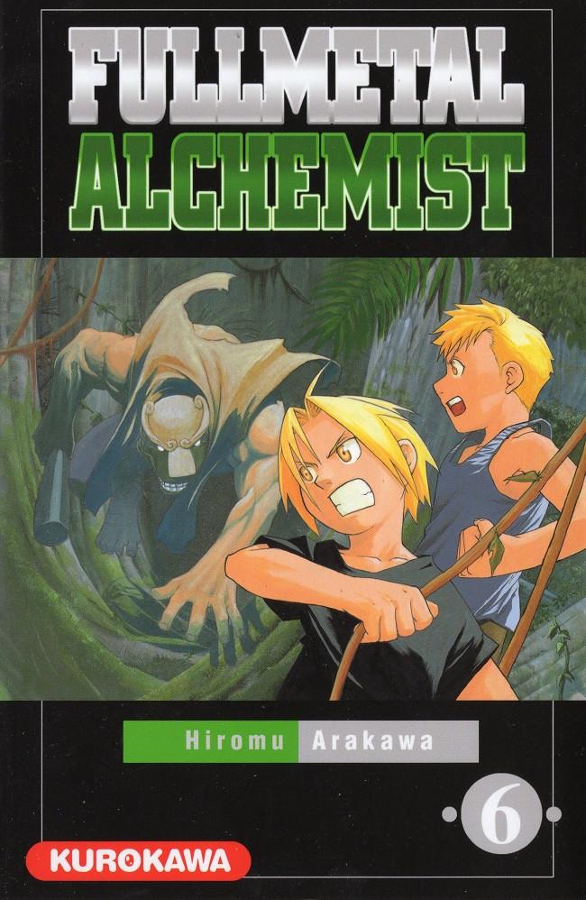 Couverture de FullMetal Alchemist -6- Tome 6