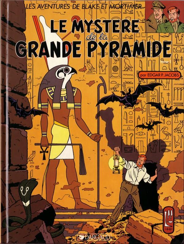 Couverture de Blake et Mortimer (Les Aventures de) -4- Le mystère de la grande pyramide T1