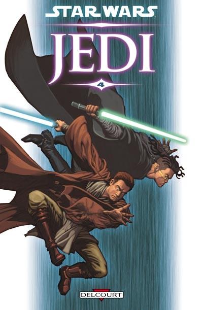 Couverture de Star Wars - Jedi -4- La guerre de Stark