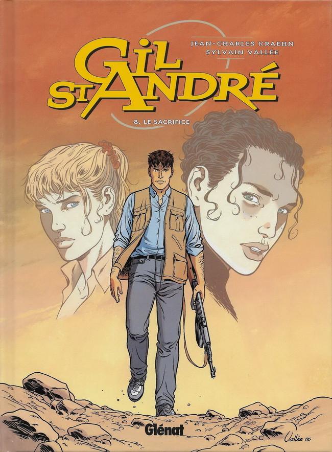 Couverture de Gil St André -8- Le sacrifice