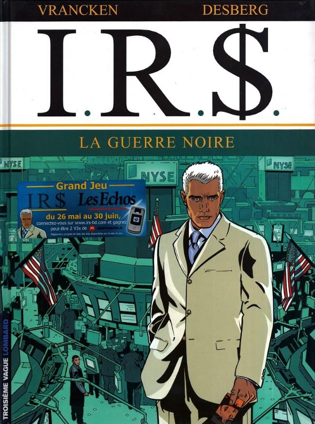 Couverture de I.R.$. -8- La guerre noire