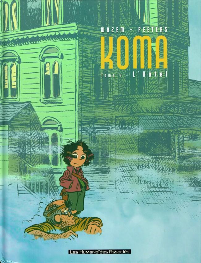 Couverture de Koma -4- L'Hôtel