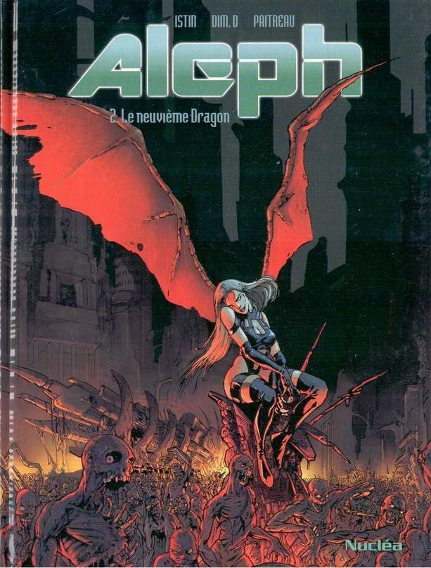 Couverture de Aleph (Dim. D) -2- Le neuvième Dragon