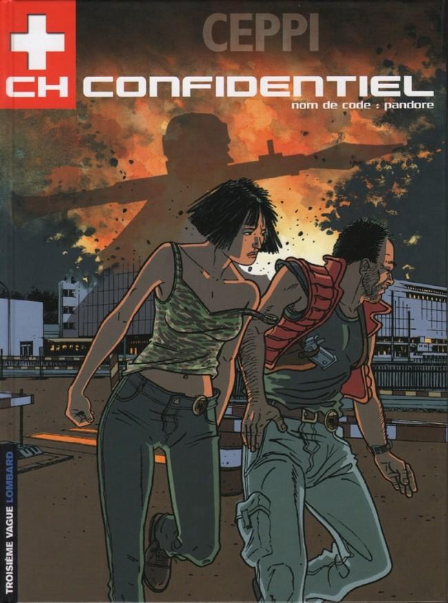 Couverture de CH Confidentiel -1- Nom de code: Pandore