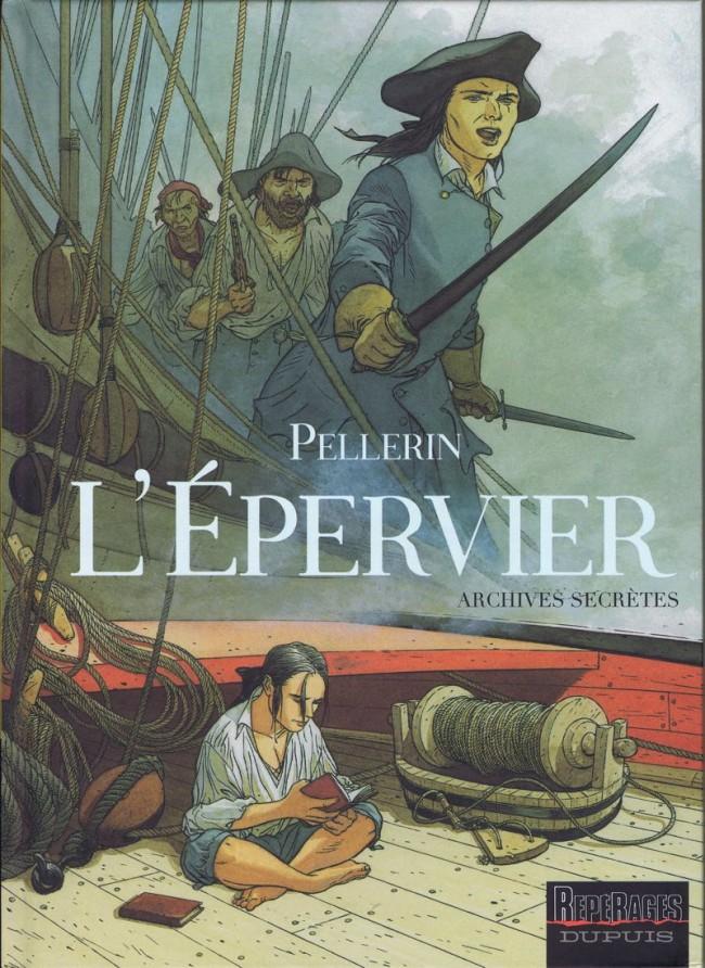 Couverture de L'Épervier (Pellerin) -HS2- Archives Secrètes