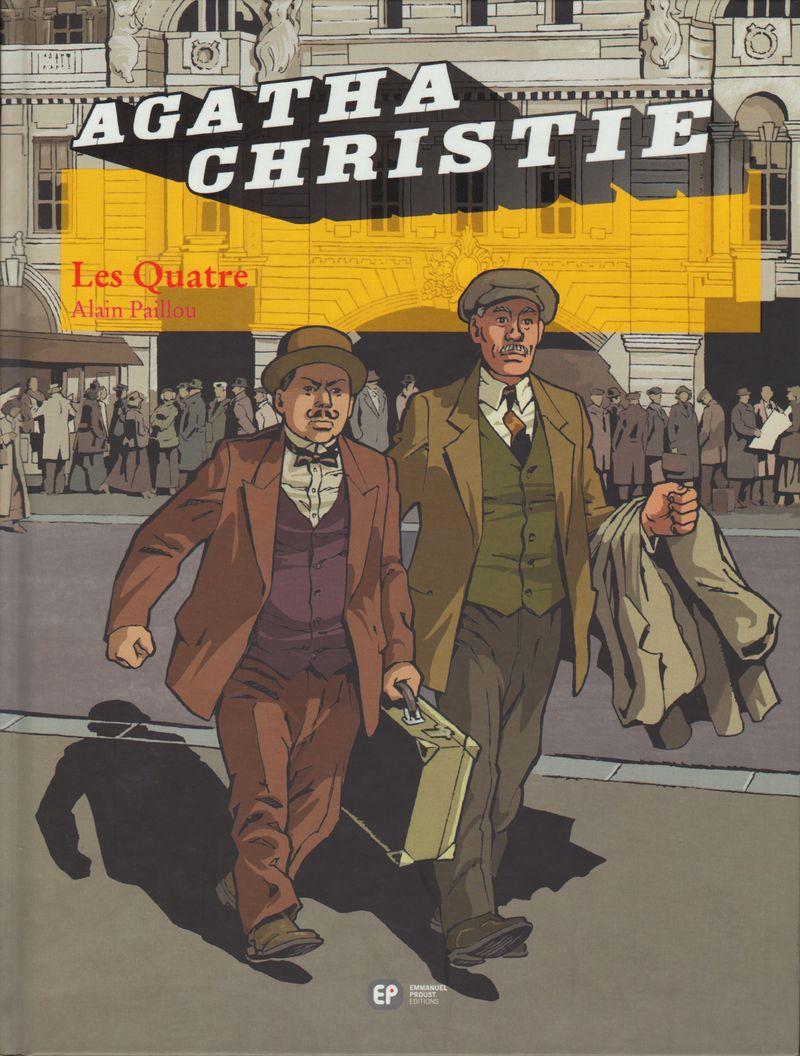 Couverture de Agatha Christie (Emmanuel Proust Éditions) -13- Les Quatre