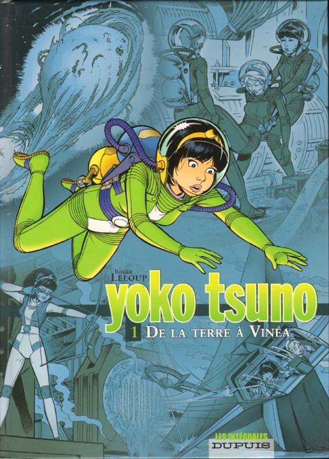 Couverture de Yoko Tsuno (Intégrale) -1- De la Terre à Vinéa