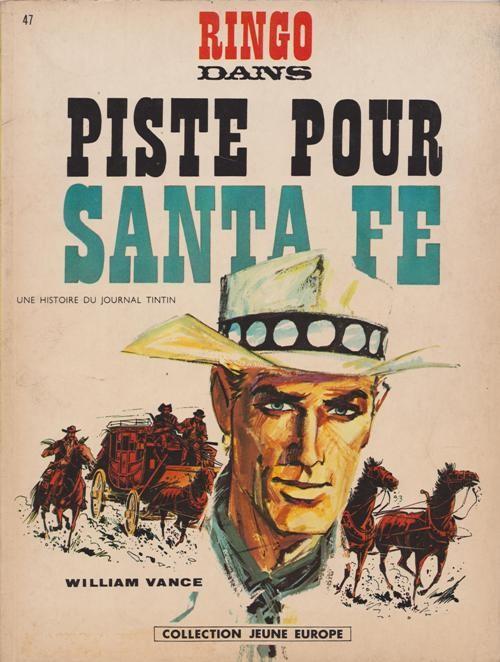 Couverture de Ringo (Vance) -147- Piste pour Santa Fe