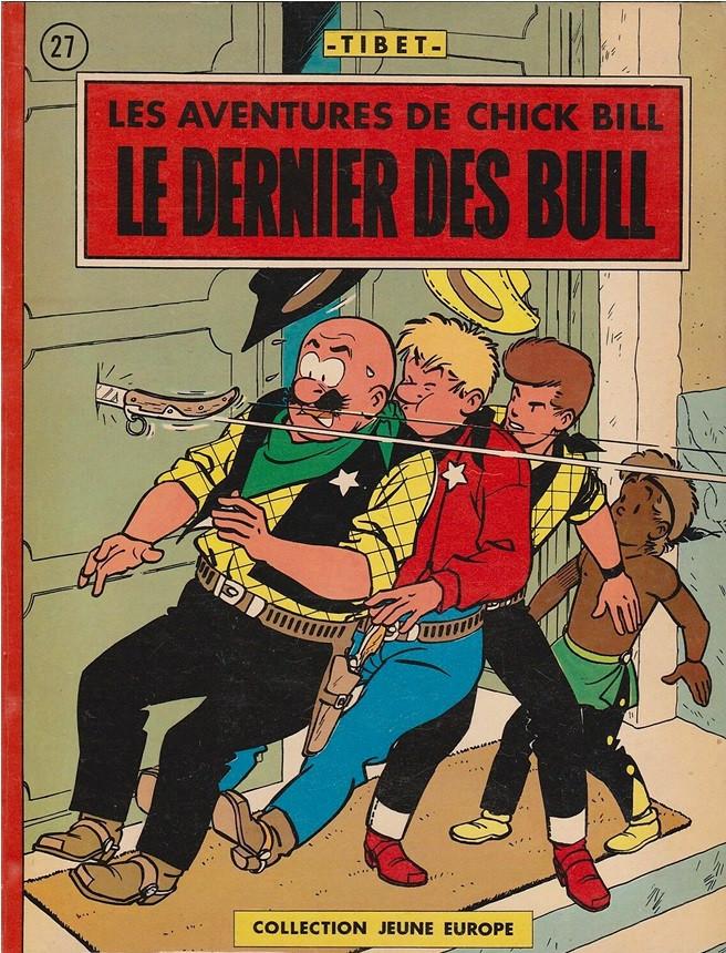 Couverture de Chick Bill (collection Jeune Europe) -227- Le dernier des Bull