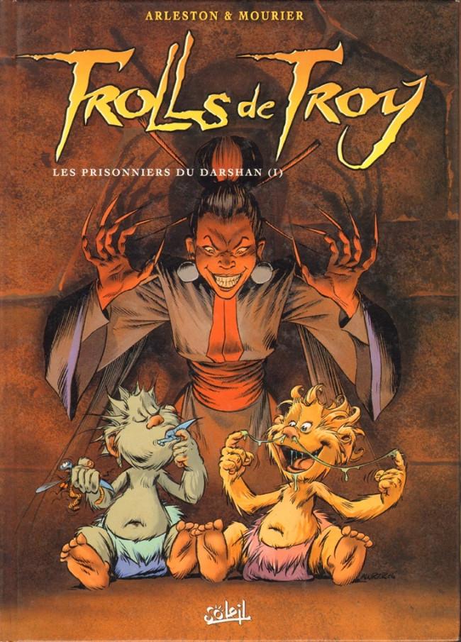 Couverture de Trolls de Troy -9- Les prisonniers du Darshan (I)