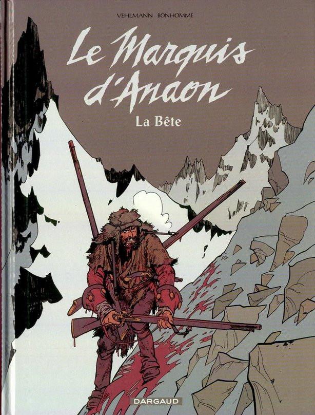 Couverture de Le marquis d'Anaon -4- La bête