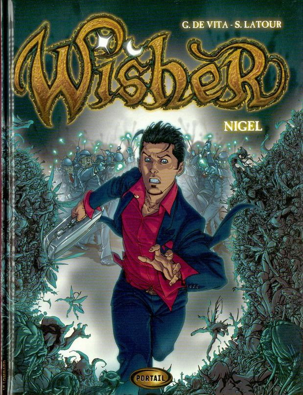 Couverture de Wisher -1- Nigel