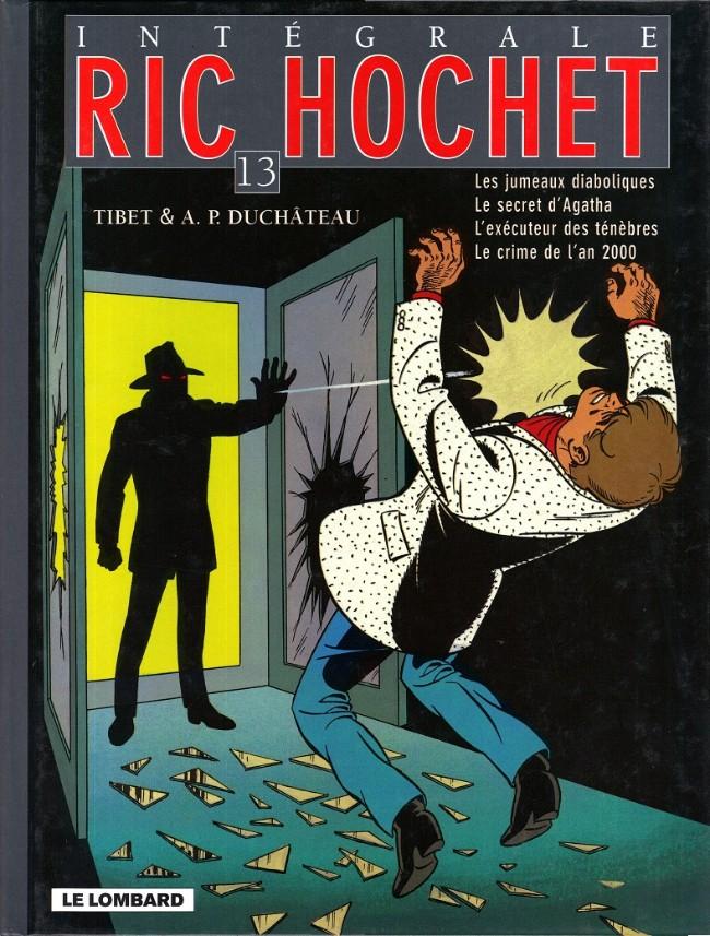 Couverture de Ric Hochet (Intégrale) -13- Tome 13