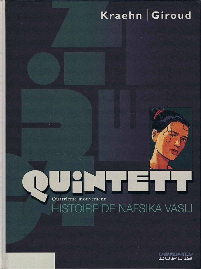 Couverture de Quintett -4- Quatrième mouvement : Histoire de Nafsika Vasli