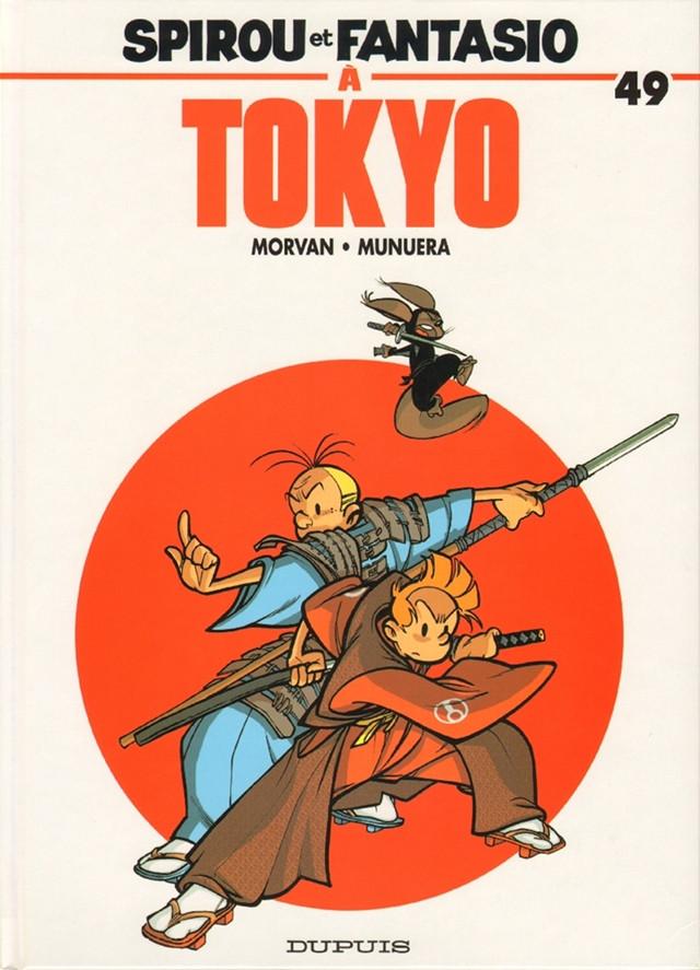 Couverture de Spirou et Fantasio -49- Spirou et Fantasio à Tokyo
