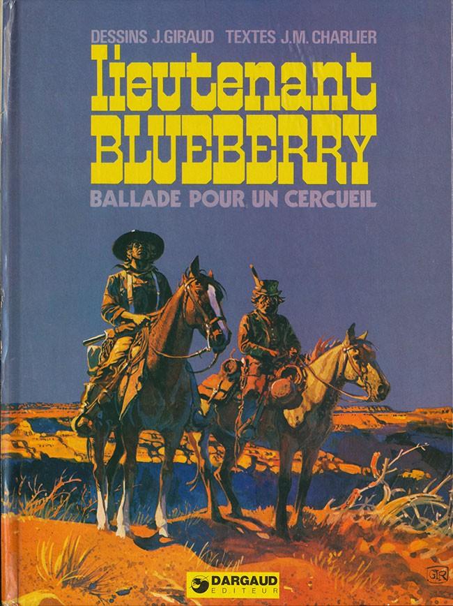 Couverture de Blueberry -15- Ballade pour un cercueil