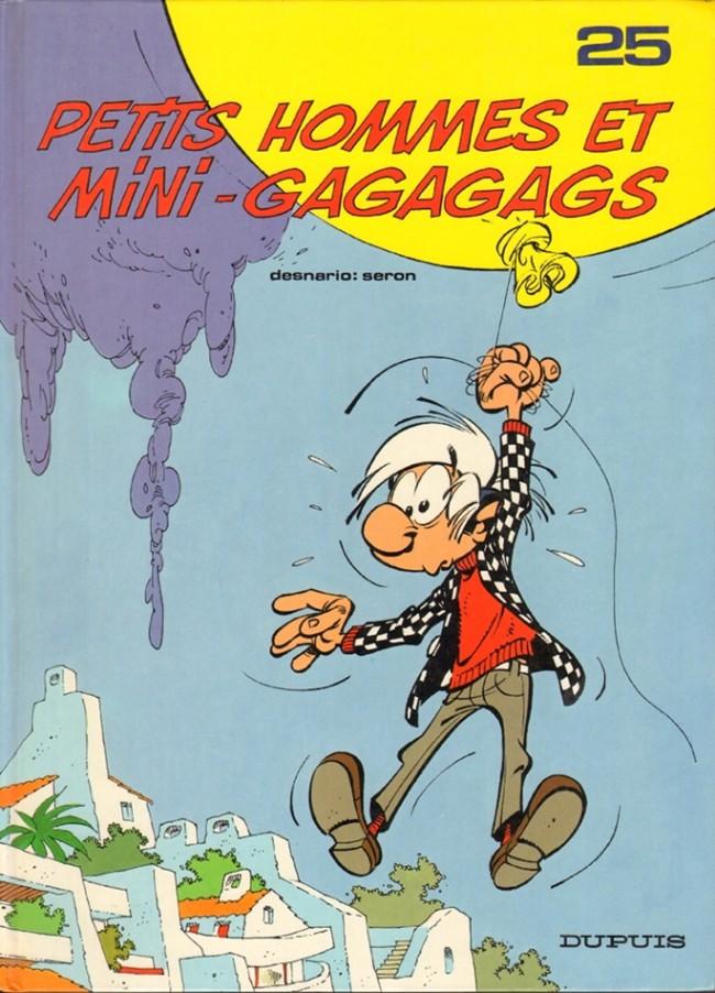 Couverture de Les petits hommes -25- Petits hommes et mini-gagagags