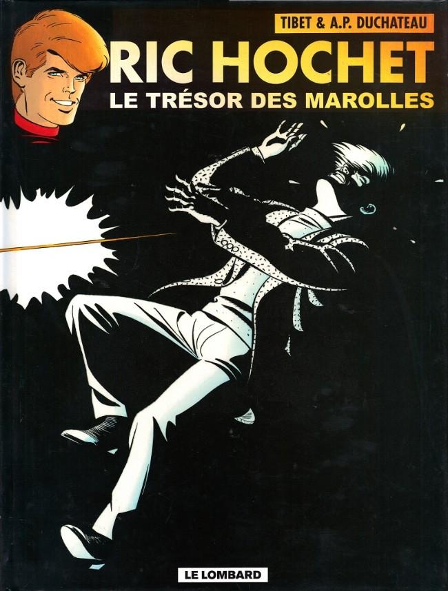 Couverture de Ric Hochet -72- Le trésor des Marolles