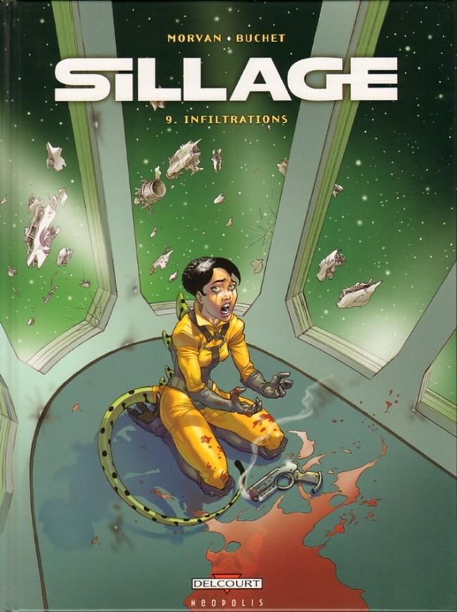 Couverture de Sillage -9- Infiltrations