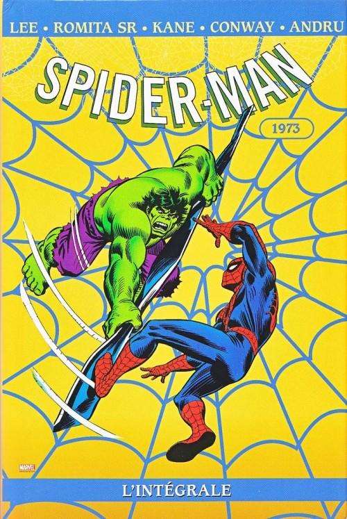 Couverture de Spider-Man (L'Intégrale) -11INT- Spider-Man : L'Intégrale 1973