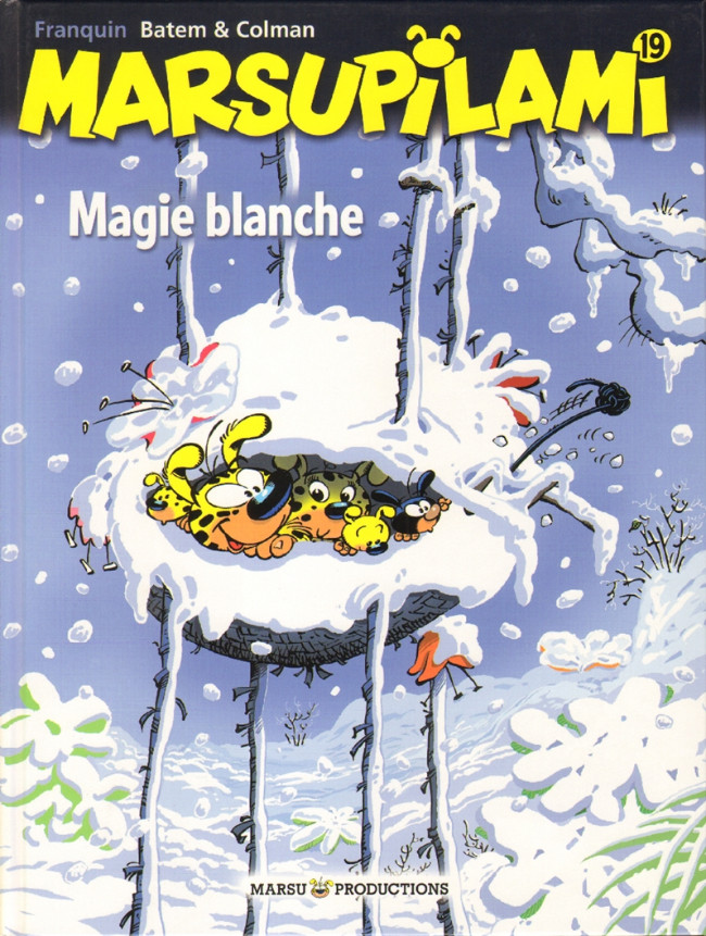 Couverture de Marsupilami -19- Magie Blanche