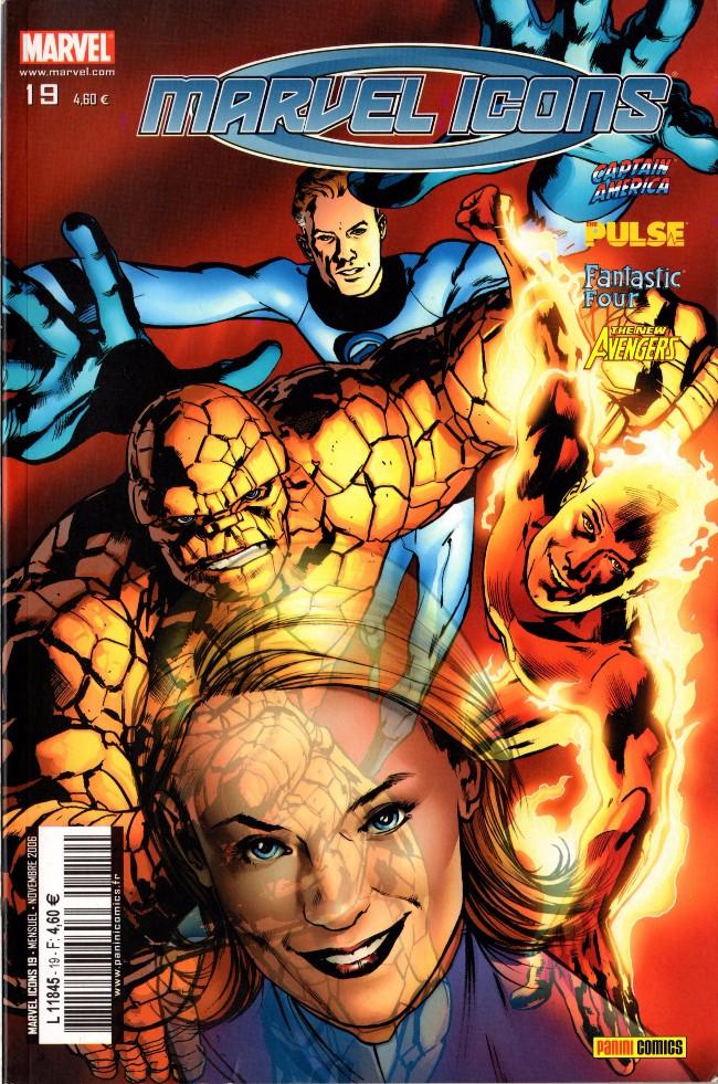 Couverture de Marvel Icons (Marvel France - 2005) -19- Affronter une ombre