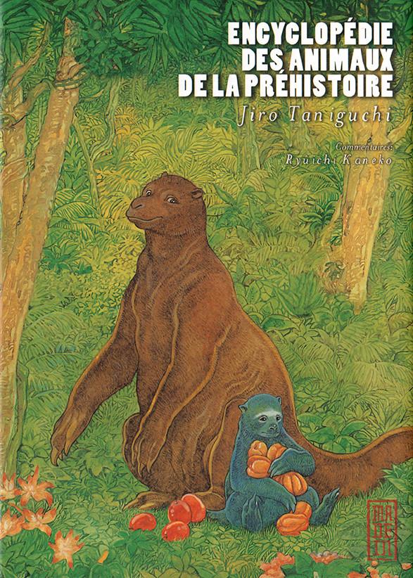 Couverture de Encyclopédie des animaux de la préhistoire