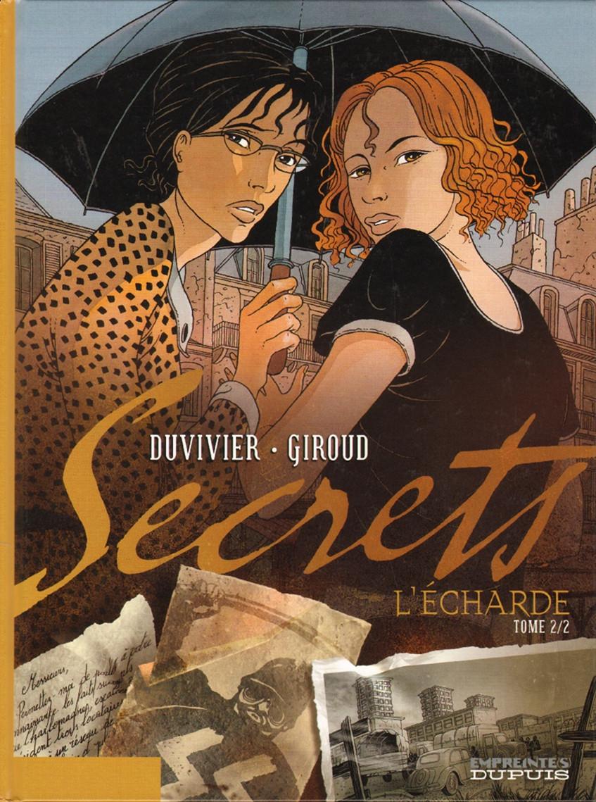 Couverture de Secrets - L'écharde -2- Tome 2