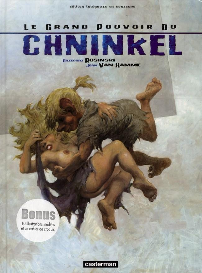 Couverture de Le grand pouvoir du Chninkel - Tome INT