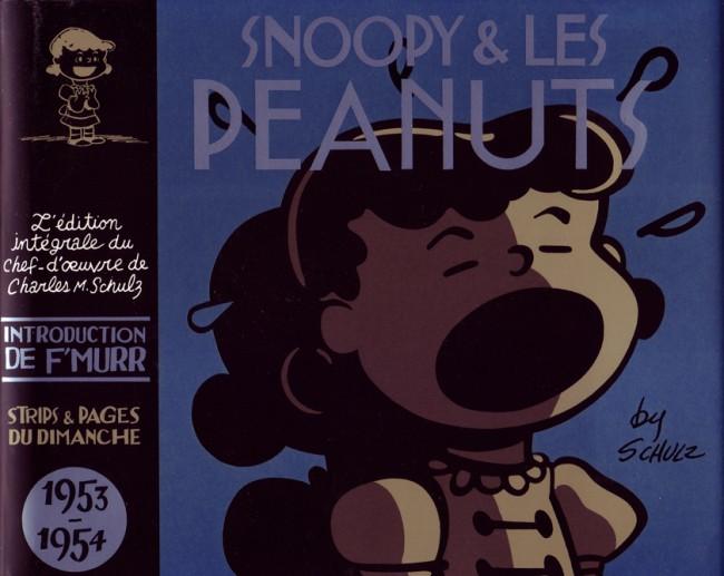 Couverture de Snoopy & Les Peanuts (Intégrale Dargaud) -2- 1953 - 1954