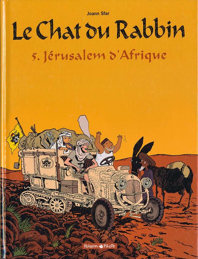 Couverture de Le chat du Rabbin -5- Jérusalem d'Afrique