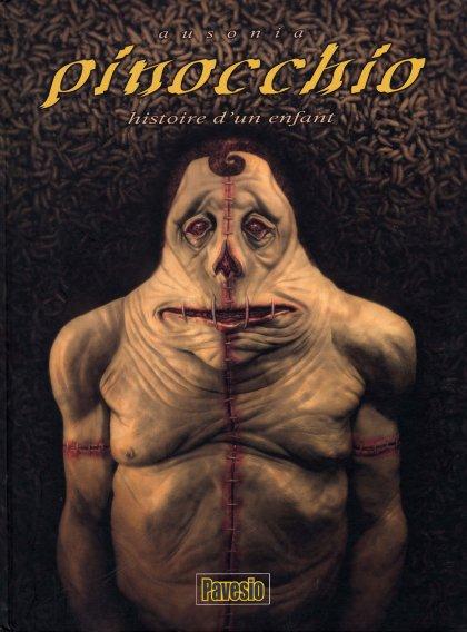 Couverture de Pinocchio histoire d'un enfant