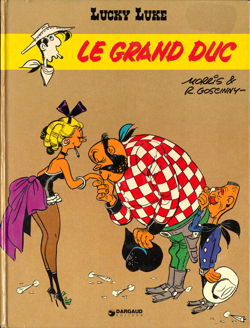 Couverture de Lucky Luke -40- Le grand duc