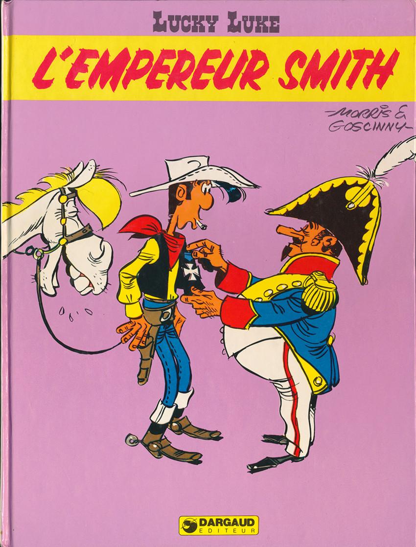Couverture de Lucky Luke -45- L'empereur Smith