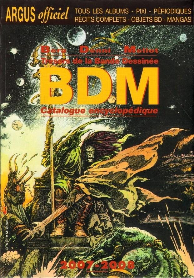 Couverture de (DOC) BDM -16- Trésors de la Bande Dessinée 2007-2008