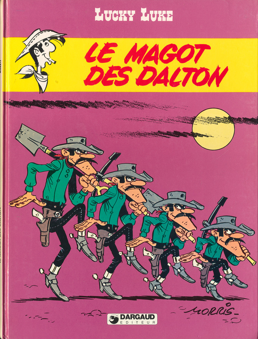 Couverture de Lucky Luke -47- Le magot des Dalton