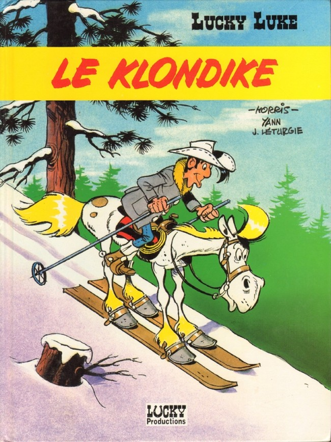 Couverture de Lucky Luke -66- Le Klondike