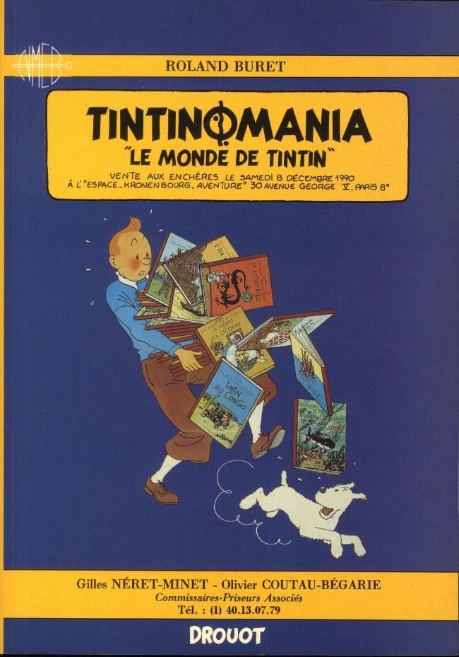 Couverture de (Catalogues) Ventes aux enchères - Divers - Néret-Minet & Coutau-Bégarie - Tintinomania