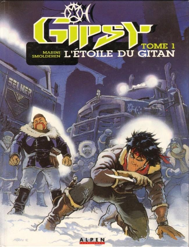Couverture de Gipsy -1- L'étoile du Gitan
