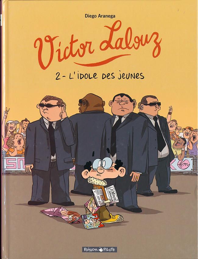 Couverture de Victor Lalouz -2- L'idole des jeunes