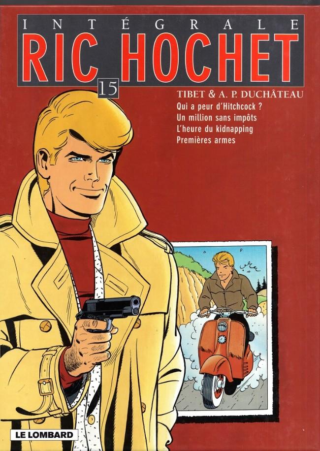 Couverture de Ric Hochet (Intégrale) -15- Tome 15