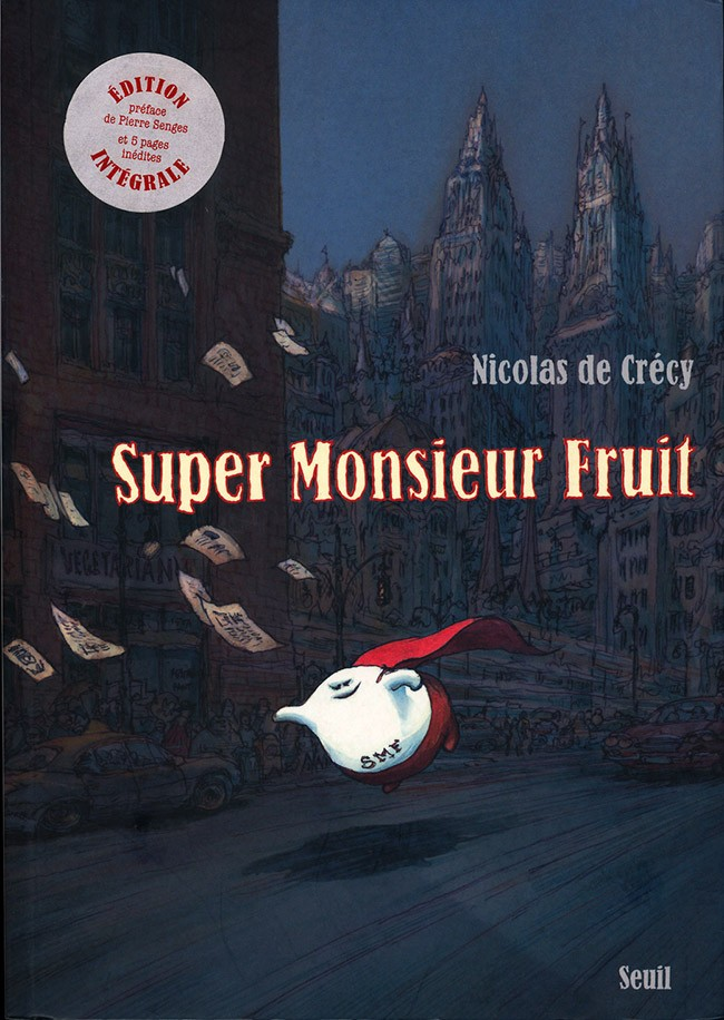 Couverture de Monsieur Fruit -INT- Super Monsieur Fruit
