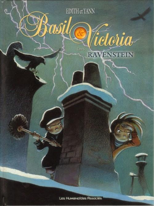 Couverture de Basil & Victoria -5- Ravenstein