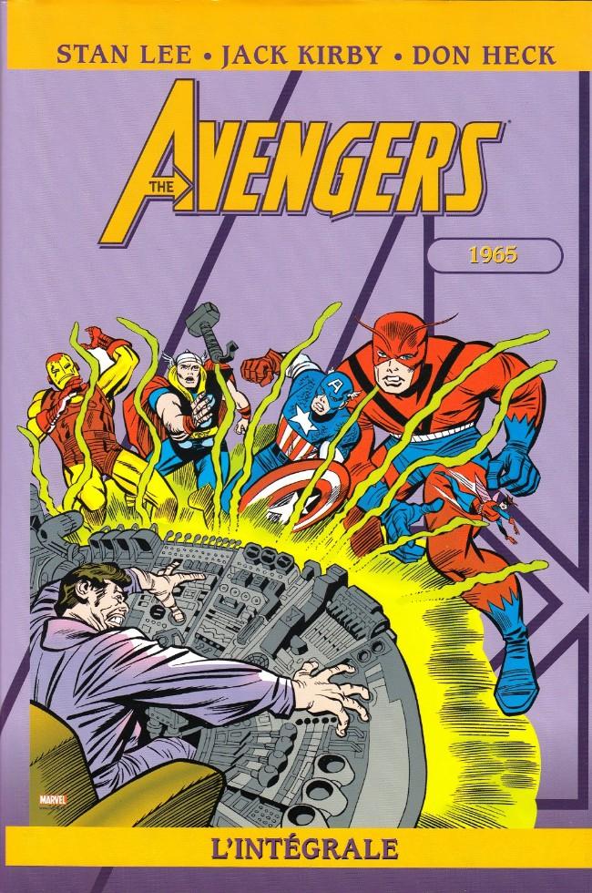 Couverture de Avengers (The) (L'intégrale) -2- L'intégrale 1965
