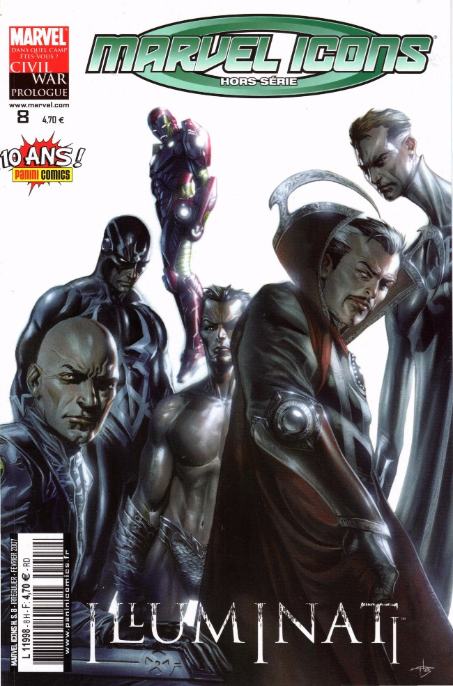 Couverture de Marvel Icons Hors Série -8- Illuminati