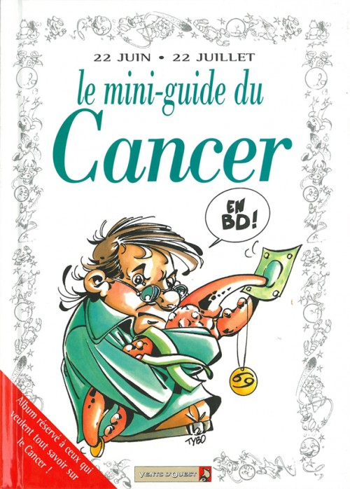 Couverture de Le mini-guide -4- Le mini-guide du Cancer