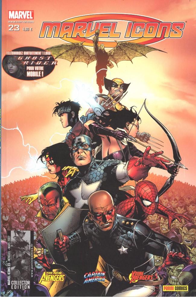Couverture de Marvel Icons (Marvel France - 2005) -23- Le blitz du XXIe siècle