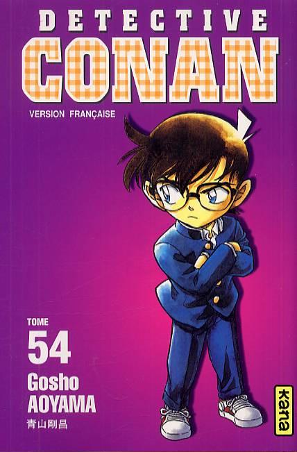 Couverture de Détective Conan -54- Tome 54